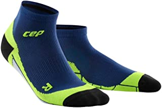 Men's Ankle Compression Running Socks - CEP Low Cut Socks for Performance