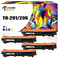 Toner Bank brother ブラザー 互換トナーカートリッジ TN-291 TN-296 セット 対応機種: HL-3140CW HL-3170CDW MFC-9340CDW DCP-9020CDW 4色セット