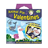 動物ピン バレンタイン スーパーファンパック
