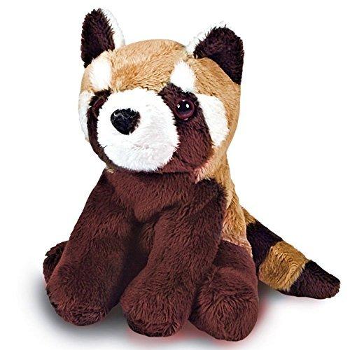 14 cm-Rouge-Peluche Panda-Petite Peluche-Animal - 0 ans