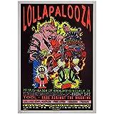 KONGQTE Lollapalooza Music Festival Poster Leinwanddruck