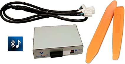 Bluetooth streaming audio kit (Vais SL3B-L) w/ USB charge PLUS dash trim removal tools. For Lexus radios. (Bundle: 2 items)