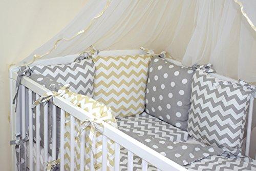 Baby's Comfort Tour de lit 6 coussins 35x210cm (couleurs 28-54) (34)