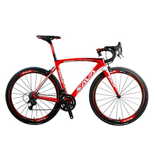 SAVA HERD9.0 700C Carbon Fiber Road Bike Cycling...