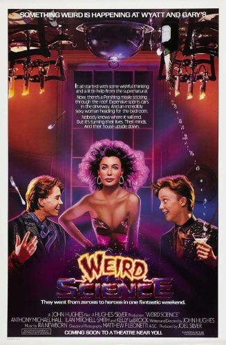 Weird Science 27 x 40 Movie Poster