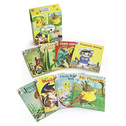 Animal Stories: Vintage Storybook: Time Well Spent (Toon Studio Vintage Children s 8-book Vintage Storybook Gift Set)