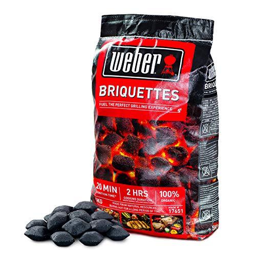 ウェーバー(Weber) バーベキュー コンロ 安心,安全BBQ チャコールブリケット(炭)5㎏ 人,環境,食材に優しい1...