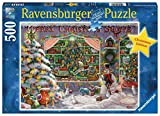Ravensburger The Christmas Shop500 Piece Jigsaw Puzzle for Adults - Every Piece is Unique, Softclick Technology Means Pieces Fit Together Perfectly