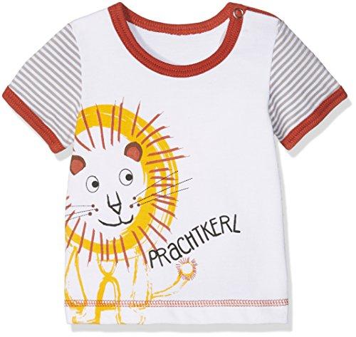 Adelheid Baby-Jungen Prachtkerl Bio Leibchen k. A. Albglück T-Shirt, Weiß (blütenweiss 100), 74 (Herstellergröße:74/80)