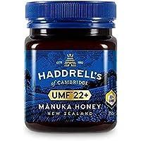 Haddrells of Cambridge Miel de Manuka   UMF 22+ MGO 1000+   Miel de manuka pura premium de Nueva Zelanda   250g