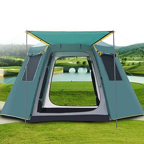 ZHJLOP Zelt Hillman Large Camping Zelt 2-3 Personen Ultraleicht Zelte Outdoor Doppelschicht 20D beschichtetes Silikon PU10000mm Wanderzelt
