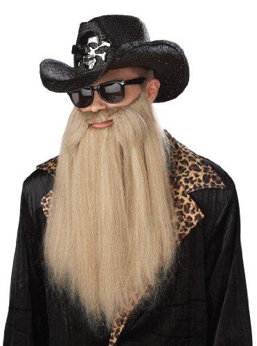 California Costumes Sharp Dressed Man Beard, Blonde, One Size Costume Accessory