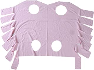 Cngstar プロフェッショナルリカバリースーツ お腹の傷と皮膚疾患用 カラー 猫と女性の犬の代替品 ピンク (S)