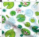 Frösche, Amphibien, Frühling, Kröten, Lotusblume, Teich,