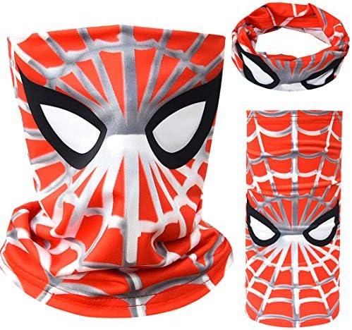 Tsyllyp Kids Full Coverage Tube Face Bandanas Balaclava UV Protection Neck Gaiter Headband Halloween product image