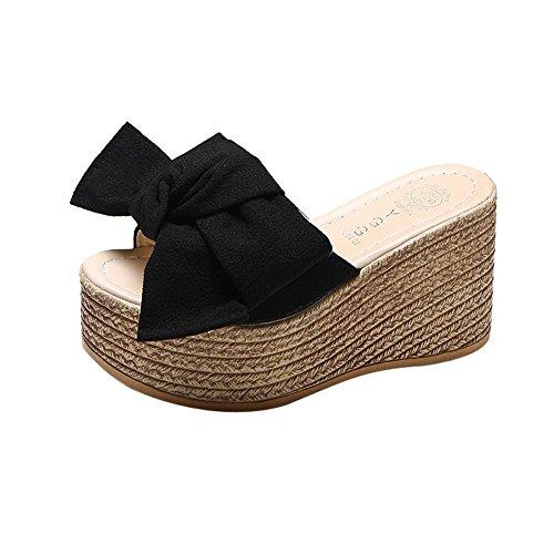 Logobeing Sandalias y Chanclas Plataforma Mujer Sandalias de Vestir Casual Zapatos de Baño Verano Fiesta Chanclas 35-40
