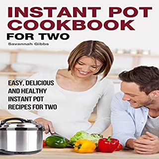Instant Pot Cookbook for Two audiobook cover art
