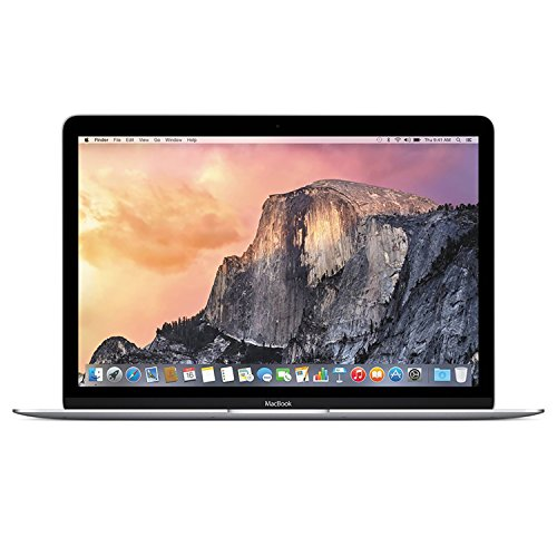 Apple Macbook Retina Display 12in Laptop (2015) - 256GB SSD, 8 GB Memory, Silver (Renewed)