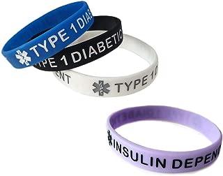 JOYID Blood THINNER Medical Alert ID Emergency Bracelet Warning Wristband Silicone Bracelet