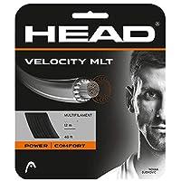 ヘッド [単張パッケージ品] ベロシティMLT Velocity MLT (125/130) 硬式テニス ストリング マルチフィラメントガット 281404 ゲージ:1.25mm ブラック [並行輸入品]