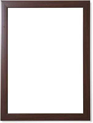 Frame N Art Decorative Wooden Finish Water Proof Vanity Wall Mirror Glass for Living Room, Bathroom, Bedroom (CGC-32) (18 x 24)