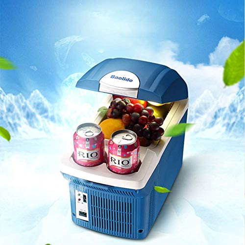 Luckya Car Mini Refrigerator Cool and Warm Cool Box Dual Use 12V Vehicle Voltage Travel, Self-Driving Tour, Camping, Picnics The Best Choice for Summer Car Refrigerator
