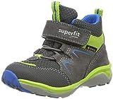 Superfit Jungen Sport5 Gore-Tex Hohe Sneaker, Grau (Grau/Grün 20), 34 EU