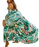 Orshoy Damen Morgenmantel Maxi Lang Kimono Kleid Kimono Bademantel Damen Lange Robe...