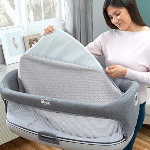 Chicco Close to You 3-in-1 Bedside Bassinet - Heather Grey