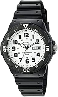 Casio Men's 'Classic' Quartz Resin Watch, Color:Black...