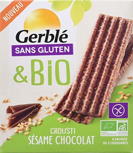 Gerblé Crousti Sésame Chocolat sans Gluten Bio 132 g