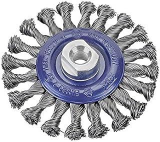 Cepillos de carda limpieza de limas Alambre de acero 100x235x25 Osborn