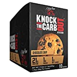 Rich Piana 5% Nutrition 'KTCO' Knock The Carb Out Keto Cookies, High Protein Cookie Snack, 1 Gram Net Sugar, Keto-Friendly Meal Replacement with Fiber, Egg Whites, 10 Count (Chocolate Chip)
