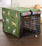 image of reversible cute dog images crate cover