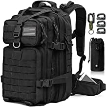 EMDMAK Military Tactical Backpack, 42L Large Military Pack Army 3 Day Assault Pack Molle Bag Rucksack for Outdoor Hiking Camping Hunting