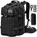 EMDMAK Military Tactical Backpack, 42L Large Military Pack Army 3 Day Assault Pack Molle Bag...