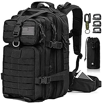 EMDMAK Military Tactical Backpack 42L Large Military Pack Army 3 Day Assault Pack Molle Bag Rucksack for Outdoor Hiking Camping Hunting