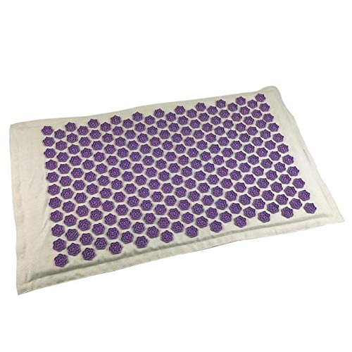 Best Buy! YMG Acupressure Mat for Massage,Lotus Spike Acupuncture Massager Mat, Back Pain Relief, Ne...