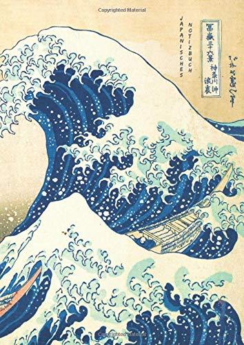 Japanisches Notizbuch: Japanisches Manuskriptheft zum Üben des Kanji Hiragana Katakana Kana-Schreibens. A4 ideal für Notizen oder kreatives Schreiben