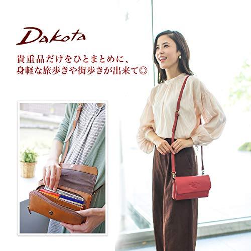 [ダコタ]Dakotaお財布ショルダーバッグ4way1032460アミューズシリーズオレンジDA-1032460-34