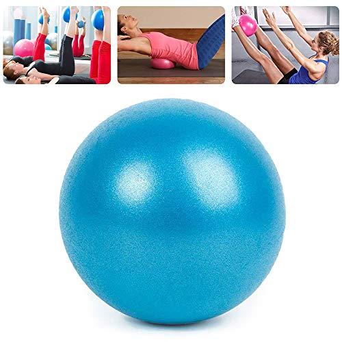 You's Auto Mini Yoga Ball Pilates Soft Ball 25cm Gymnastikball YogaÜbungsball für Fitnessstudio, Pilates, Übungen in Innenräumen, zum Abnehmen und Training. (Blau)