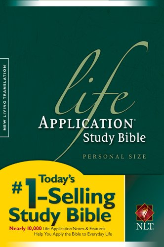 Life Application Study Bible NLT, Personal Size
