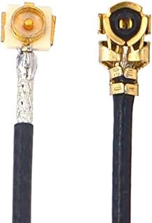 U.fl IPX Male to IPX Female Antenna Cable UFL/u.FL/IPX/IPEX RF Coaxial Extension Cord 23 inch Pack of 2