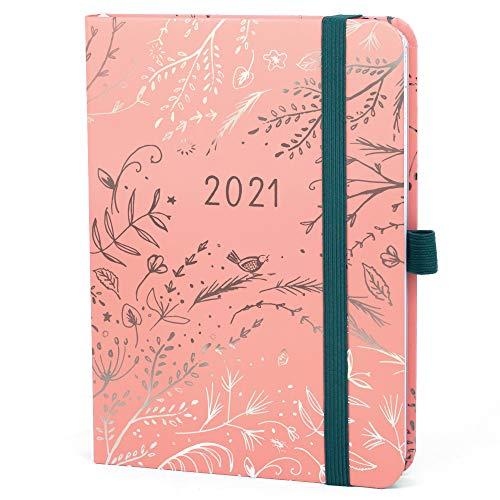 Boxclever Press Everyday Kalender 2021. Taschenkalender 2021 von Jan.-Dez.'21. Terminplaner 2021 mit Seiten für Budget, To-do-Listen und Monatsübersichten. Wochenplaner 2021 in Pink