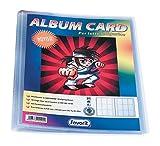 Favorit 100460338 - Album Porta Figurine con Tasca Personalizzabile, 10 Buste, Trasparente