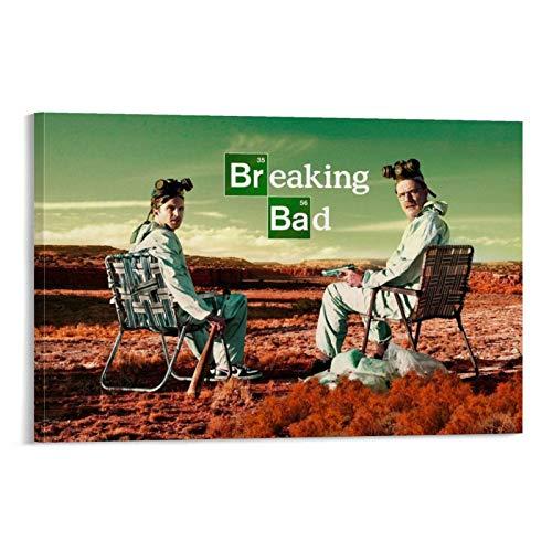 Stampa artistica su tela con film classico di Breaking Bad 11 poster e stampa artistica da parete, 30 x 45 cm