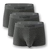 [Separatec] ボクサーパンツ セット 父の日 蒸れない 陰嚢分離型 前開き 綿 306T メンズ 3枚組