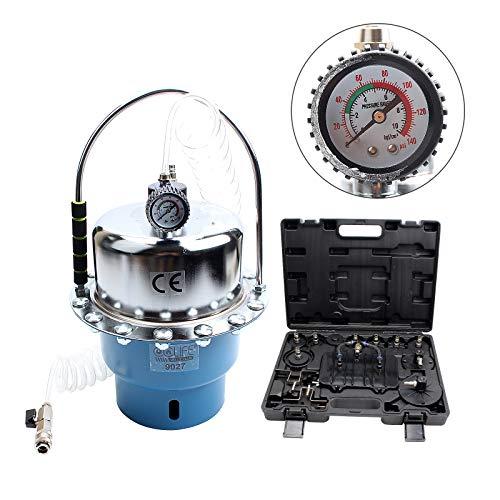 CCLIFE Druckluft Bremsenentlüfter Bremsenentlüftungsgerät Bremsen 5L KFZ Werkzeug