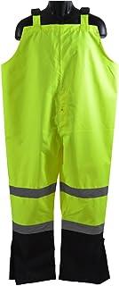 Petra LBBIP-CE-2X - Pantalones impermeables para lluvia (2 tonos, revestimiento de poliuretano Oxford 300D), color negro