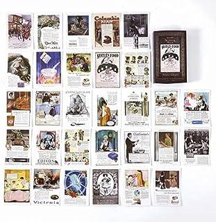 Assorted Stickers - Fairy & Elf Matchbox Diary Stickers Retro Stamps Scrapbooking Korean Cute Sticker Label 60pcs/box (5)